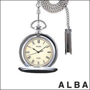 ALBA 腕時計 アルバ 時計 AABW141ポケットウォッチ ローマ数字 SUCCESS サクセス SEIKO 国内セイコー