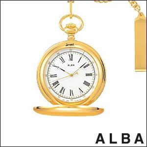 ALBA 腕時計 アルバ 時計 AABW148ポケットウォッチ ローマ数字 SUCCESS サクセス SEIKO 国内セイコー