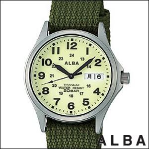 ALBA 腕時計 アルバ 時計 APBT209 メンズ FIELD GEAR フィールド・ギア 純チタン SEIKO 国内セイコー