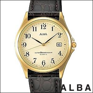 ALBA アルバ 腕時計 AQBX032 メンズ ペアウォッチ STANDARD スタンダード SEIKO 国内セイコー