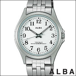ALBA アルバ 腕時計 ASSS001 メンズ イプシロン EPSILON 純チタン SEIKO 国内セイコー