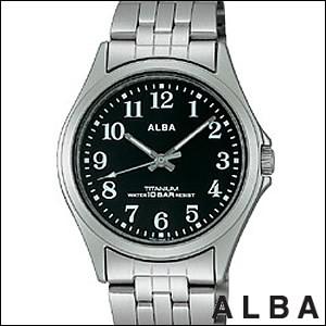 ALBA アルバ 腕時計 ASSS003 メンズ イプシロン EPSILON 純チタン SEIKO 国内セイコー