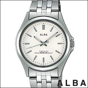 ALBA アルバ 腕時計 ASSS005 メンズ イプシロン EPSILON 純チタン SEIKO 国内セイコー