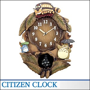 CITIZEN時計 シチズン キャラクタークロック4MJ837MN06 キャラクター時計 トトロM837N