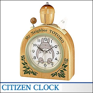 CITIZEN時計 シチズン キャラクタークロック4RA455MN06 キャラクター時計 トトロR455N