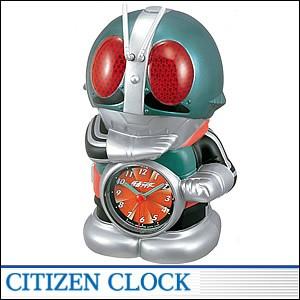 CITIZEN時計 シチズン キャラクタークロック4SE502RH05 キャラクター時計 仮面ライダー