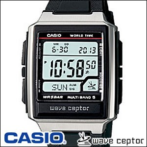 CASIO カシオ 腕時計 WV-59J-1AJF wave ceptor ウェーブ・セプター 電波時計