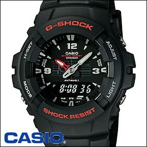 CASIO 腕時計 カシオ 時計 G-100-1BMJF Basic G-SHOCK