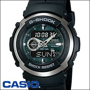 CASIO 腕時計 カシオ 時計 G-300-3AJF G-SPIKE G-SHOCK