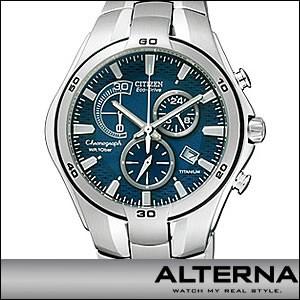 シチズン 腕時計 VO10-5993F メンズ ALTERNA オルタナ エコ・ドライブ DEATH NOTE デスノート モデル