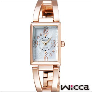 CITIZEN 腕時計 シチズン 時計 NA15-1563B レディース WICCA ウィッカ エコ・ドライブ
