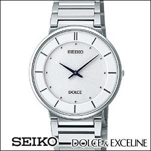 SEIKO セイコー 腕時計 SACK015 メンズ ペアウォッチ ドルチェ&エクセリーヌ 薄型