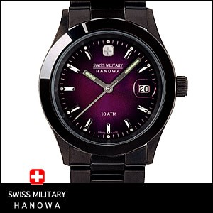 SWISS MILITARY 腕時計 スイスミリタリー 時計 ML189ペアウォッチ メンズ ELEGANT BLACK エレガントブラック