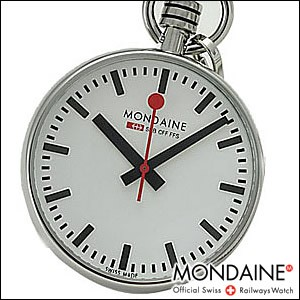 MONDAINE 腕時計 モンディーン 時計 A6603031611SBBポケットウォッチ Pocket Watch ポケットウォッチ