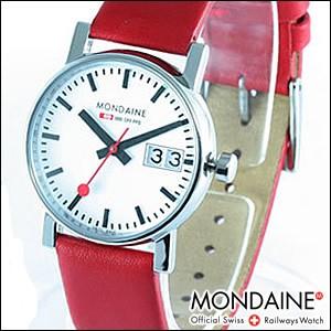 MONDAINE 腕時計 モンディーン 時計 A6693030511SBC レディース Evo エヴォ デイト表示