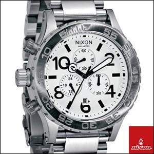 NIXON 腕時計 ニクソン 時計 A037-100 メンズ THE 42-20 クロノグラフ ダイバーズウォッチ
