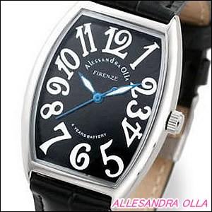 Alessandra Olla 腕時計 アレッサンドラオーラ 時計 AO-4550-2Mens メンズ メンズ モデル トノー型