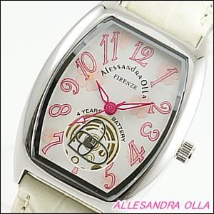 Alessandra Olla 腕時計 アレッサンドラオーラ 時計 AO-4850-IVLadys レディース 桜柄