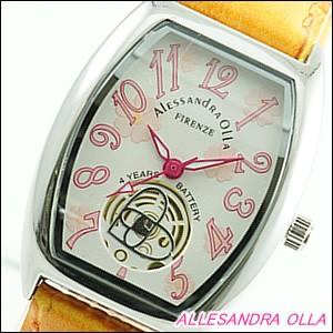 Alessandra Olla 腕時計 アレッサンドラオーラ 時計 AO-4850-ORLadys レディース 桜柄
