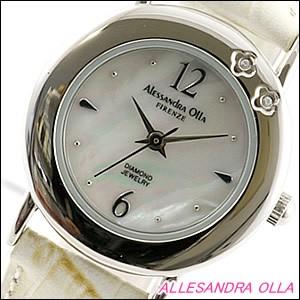 Alessandra Olla 腕時計 アレッサンドラオーラ 時計 AO-6900-IVLadys レディース 天然ダイヤモンド