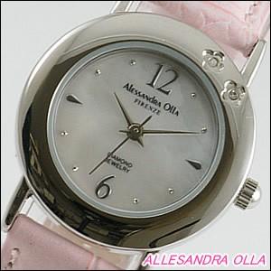 Alessandra Olla 腕時計 アレッサンドラオーラ 時計 AO-6900-PKLadys レディース 天然ダイヤモンド