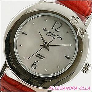 Alessandra Olla 腕時計 アレッサンドラオーラ 時計 AO-6900-RELadys レディース 天然ダイヤモンド