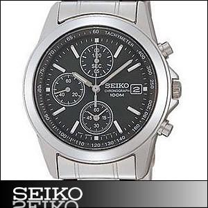 正規品 海外SEIKO 海外セイコー 腕時計 SND309P1 メンズ クロノグラフ シルバー/ブラック SND309P