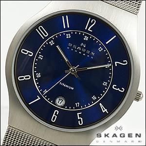 SKAGEN 腕時計 スカーゲン 時計 233XLTTN メンズ チタニウム