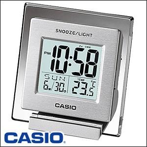 CASIO カシオ 置き時計DQ-735-8JF クロック/デスクトップクロック