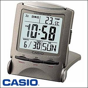 CASIO カシオ 置き時計PQ-50J-8 クロック/トラベルクロック