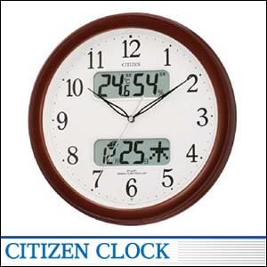CITIZEN掛時計 シチズン 時計 4FYA01-006 電波掛時計 インテリア