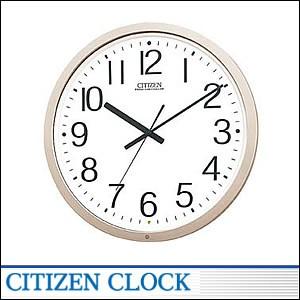 CITIZEN掛時計 シチズン 時計 4MY603-B19 電波掛時計 オフィスタイプ