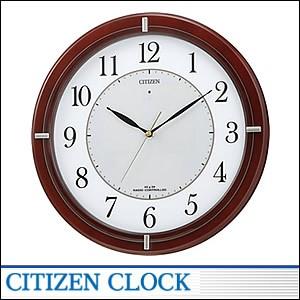 CITIZEN掛時計 シチズン 時計 4MY768-006 電波掛時計 ソーラー電源
