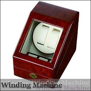 LUHW ローテンシュラガー LU-20001RD 木製2連ワインディングマシーン