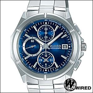 WIRED ワイアード 腕時計 AGAV005 メンズ DELTA デルタ クロノグラフ
