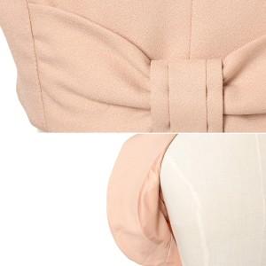 【メール便送料無料】リボン ジャケット 半袖 ボレロ 結婚式 フォーマル ジャケットボレロ 大きいサイズ パーティーボレロ レディース