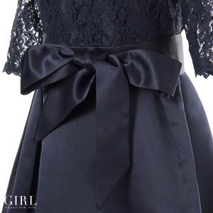 パーティードレス ワンピース 結婚式 ドレス お呼ばれ モデル美香着用 二次会 披露宴 パーティー レディース フォーマル