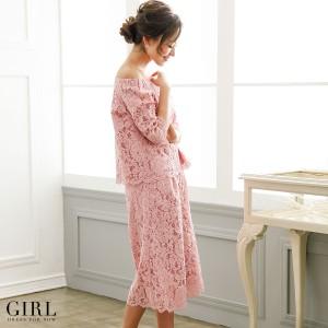 パーティードレス パンツドレス 結婚式 大きいサイズ モデル美香着用 セットアップ 二次会 披露宴 パーティー レディース フォーマル