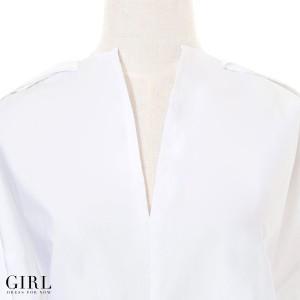 トップス ブラウス プルオーバー カットソー Tシャツ レディース シャツ 長袖 カジュアル 通勤 オフィス ビジネス ホワイト ストライプ