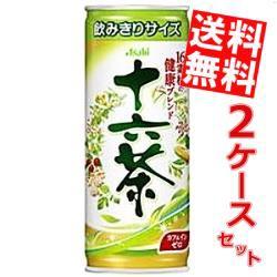 【送料無料】アサヒ 十六茶 245g缶 60本(30本×2ケース)[ブレンド茶][のしOK]
