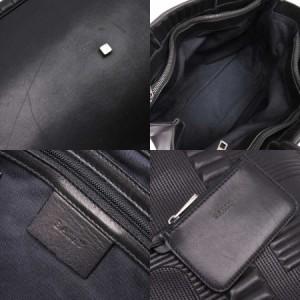 【定番人気】【中古】バリー ショルダーバッグ トートバッグ  Bロゴ レディース ブラック n8553