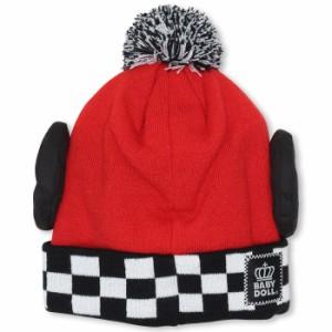 NEW ディズニー なりきりニット帽-ベビーサイズ キッズ ベビードール 子供用 帽子 子供服/DISNEY-9453 ハロウィン 仮装 コスプレ