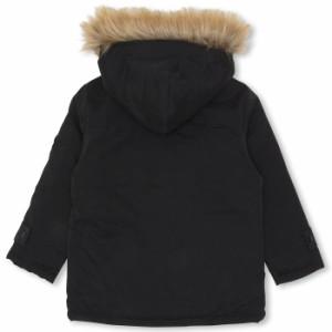 中綿アウター ファー付 フェイクダウン ジャケット ベビーサイズ キッズ 子供服 -9731K