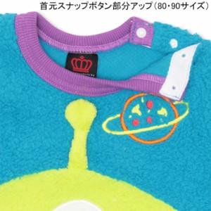 限定SALE60%OFF アウトレット ディズニー BIGフェイスボアトレーナー ベビーサイズ キッズ ベビードール 子供服/DISNEY-9759K