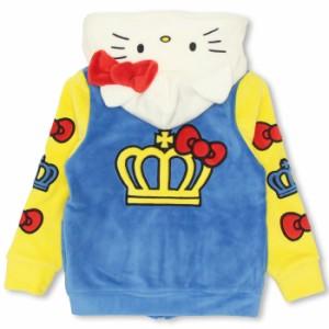 NEW サンリオ_なりきりボアジップパーカー/キティ-ベビーサイズ キッズ ハロウィン ベビードール 子供服/HELLOKITTY-9781K