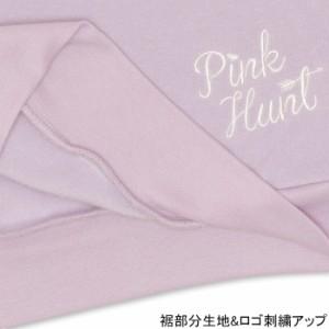 アウトレットSALE50%OFF PINKHUNT 袖ハート刺繍トレーナー-キッズ ジュニア ベビードール 子供服-9810K
