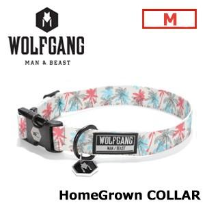【送料無料】WOLFGANG,MAN&BEAST,ウルフギャング,犬,首輪,ハーネス,リード,USA,サーフィン,スノーボード●Home Grown collar サイズ(M)