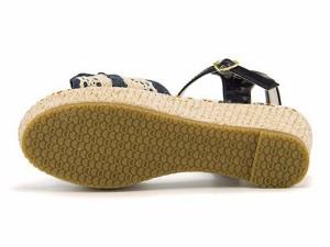 厚底 サンダル ウェッジソール 女の子 キッズ 子供靴 美脚 リップザスウェル Rip the Swell 852052 デニム