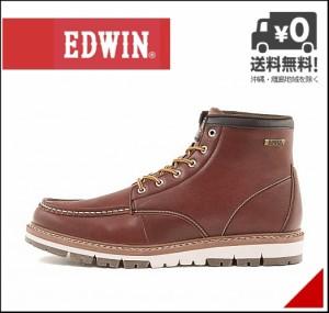 エドウィン メンズ ワークブーツ リゾート EDWIN EDM-9807 ワイン