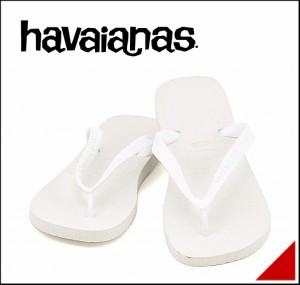 ハワイアナス ビーチサンダル メンズ トップ TOP havaianas 4000029 ホワイト【メンズバーゲン】